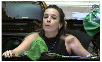 """De Ponti: """"Los diputados que pagan abortos clandestinos son los que se oponen a este proyecto""""   Aborto"""