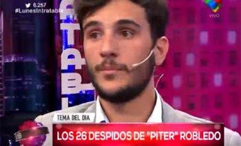 El divertido cruce de Piter Robledo por el partido   Pedro robledo