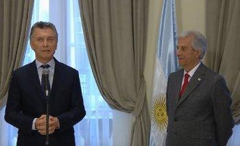 En medio de la crisis, Macri piensa en el Mundial 2030   Tabaré vázquez