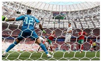 Rusia 2018: mirá el gol de CR7 con el que Portugal derrotó a Marruecos 1 a 0 | Mundial rusia 2018