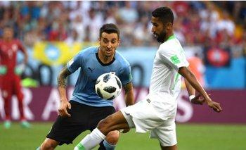 Rusia 2018: el gol de Suárez con el que Uruguay derrotó a Arabia y clasificó a octavos | Arabia saudita