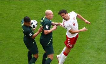 Rusia 2018: Dinamarca no pudo con Australia y empataron 1-1 | Australia