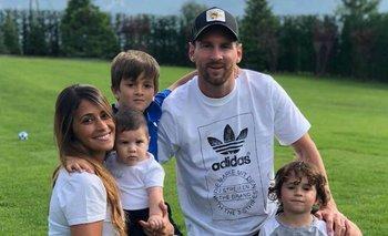 La tierna foto navideña de la familia Messi | Navidad