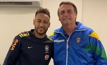 Jair Bolsonaro visitó a Neymar y lo respaldó tras la denuncia por violación   Brasil