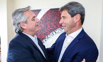 Uñac se suma a los gobernadores que apoyan a Alberto Fernández    Fuerte respaldo a la fórmula ff