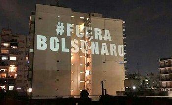 Las fotos de la marcha contra Bolsonaro en Buenos Aires | Bolsonaro en argentina
