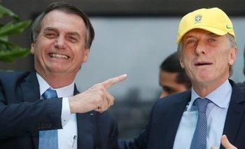 El picante tuit de Rial que despertó burlas sobre una foto de Macri y Bolsonaro   Jorge rial