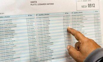 Elecciones 2021: ya se puede consultar el padrón electoral | Elecciones 2021