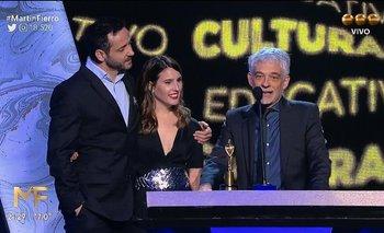 Martín Fierro: los ganadores de un premio reclamaron por el ajuste en Ciencia | Ajuste