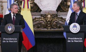 La insólita queja de Macri al presidente de Colombia | Elecciones 2019