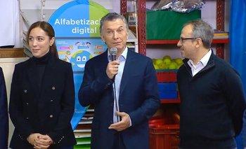 La insólita crítica de Macri al Conectar Igualdad  | Conectar igualdad