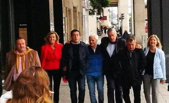 Gioja, De Pedro y otros dirigentes están junto a Massa   Elecciones 2019