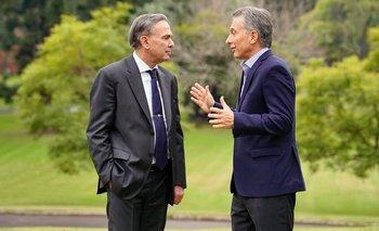 Pichetto, de alarmar por un nuevo 2001 a ser elegido por Macri para destrabar las negociaciones con el FMI | Miguel ángel pichetto