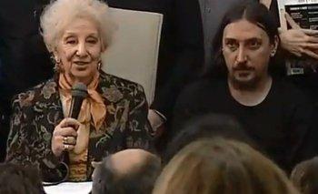 Abuelas presentó al nieto 130: se llama Javier Matías Darroux Mijalchuk | Nieto 130