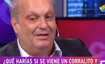 Lombardi reveló que De la Rua quedó atrapado en el Corralito