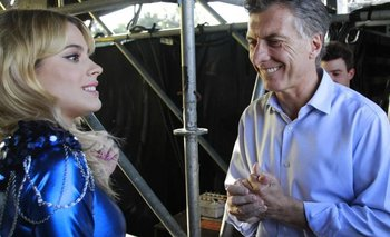 """Tini"" Stoessel le cantó ""Cristina"" a Antonia y Mauricio Macri | Mauricio macri"
