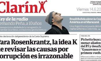 El garrafal error del Diario Clarín sobre el inicio de la Copa América | Clarín