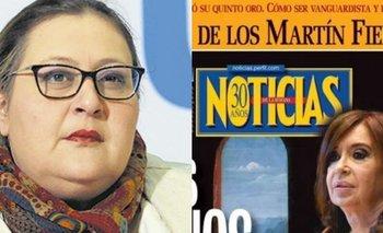"""Graciana Peñafort estalló contra la Revista Noticias: """"Espero la foto trucada de Macri y Pichetto haciéndose sexo oral""""   Alberto fernández"""