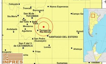 Un sismo de 4 grados Richter sacudió Santiago del Estero y se sintió en Tucumán | Santiago del estero