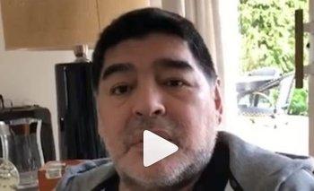 Maradona rompió el silencio y reveló cómo está su estado de salud   Diego maradona