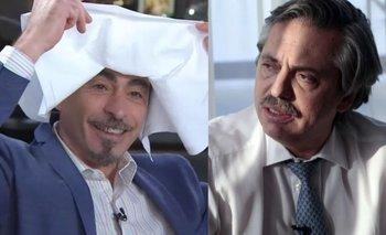 Andahazi, sacado: trató a Alberto de golpeador   Video