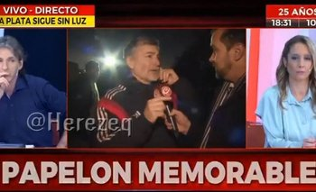 En pleno apagón, Crónica TV salió a militar el tarifazo pero le salió mal | Tarifazos