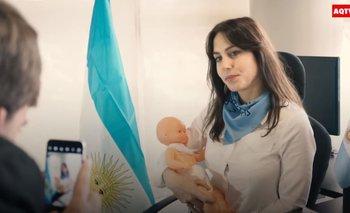 La parodia a Amalia Granata que estalló en las redes sociales   Desopilante