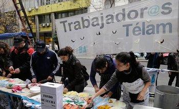 A un año de los despidos, continúa la lucha de los trabajadores de Télam | Despedidos