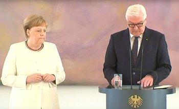 Video: Merkel vuelve a sufrir temblores y crece la preocupación por su salud | Alemania