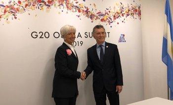 Para Lagarde, el programa del FMI está dando resultados en Argentina | G20