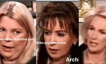 Los piojos de Carrió que asquearon a Cristina en la mesa de Mirtha  | Insólita anécdota