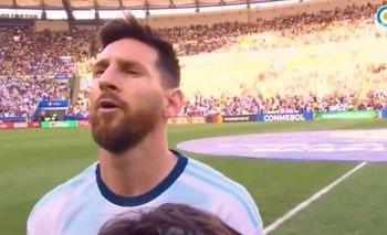 Copa América: ¿Por qué Messi cantó el himno contra Venezuela? | Copa américa brasil 2019