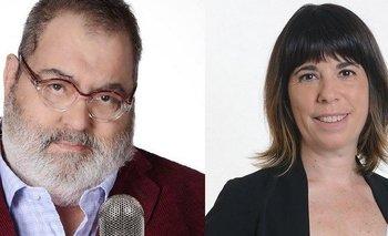 El tenso cruce de Jorge Lanata con María O