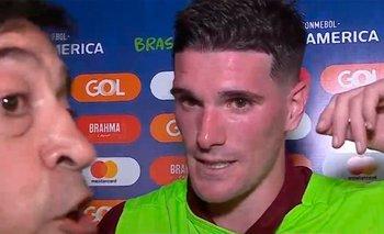 El desplante de Benedetto a una figura de la Selección | Copa américa
