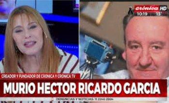 La conmovedora placa de Crónica TV por la muerte de su creador Héctor Ricardo García | Crónica tv