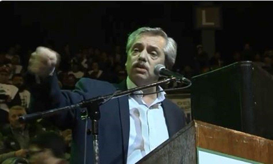 Alberto Fernández criticó las negociaciones con el Mercosur y la UE