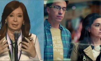 La defensa de Cristina a la actriz del Banco Galicia | Cristina kirchner
