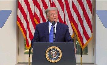 Trump anunció toque de queda y militares a las calles | Estados unidos