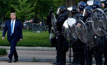 Saqueos y cacerolazos en EE.UU. contra Trump  | Violencia en estados unidos