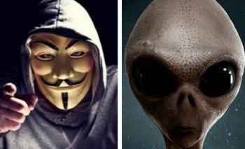Anonymous revela una conversación secreta del Área 51 | Escándalo