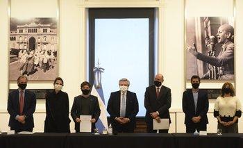 Alberto Fernández anunció convenios con provincias | Coronavirus en argentina