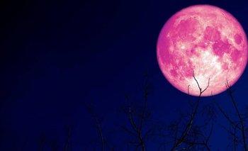 A qué hora y cómo ver la Luna de Fresa    Fenómenos naturales