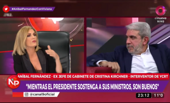 La definición de Aníbal sobre Macri que descolocó a Canosa | Aníbal fernández