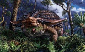 Descubren la última comida de un dinosaurio antes de morir | Ciencia