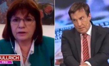 Vilouta criticó la hipocresía de Bullrich en Intratables  | Violencia institucional