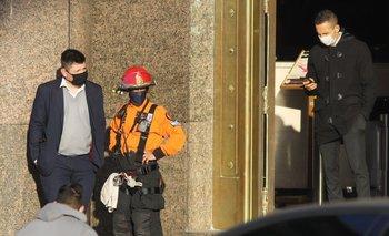 Evacúan el Ministerio de Economía por fuga de gas | Ciudad