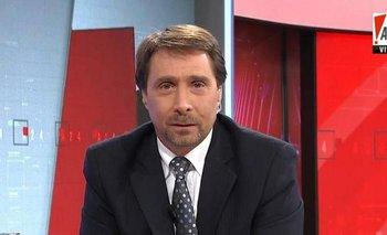 Feinmann abandonó el noticiero por un problema de salud | Eduardo feinmann