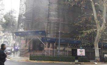 Una mujer fue detenida por el incendio del Banco Nación | Incendio