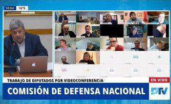 Rossi y funcionarios de las FF.AA informaron a Diputados | Cámara de diputados