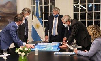 Islas Malvinas: El Gobierno enviará tres proyectos de ley  | Congreso